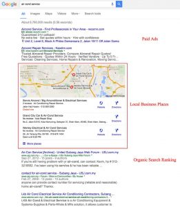 Google Local SEO Local Business Listing
